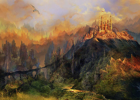 Land of golden dusk by Anastasia Michaels