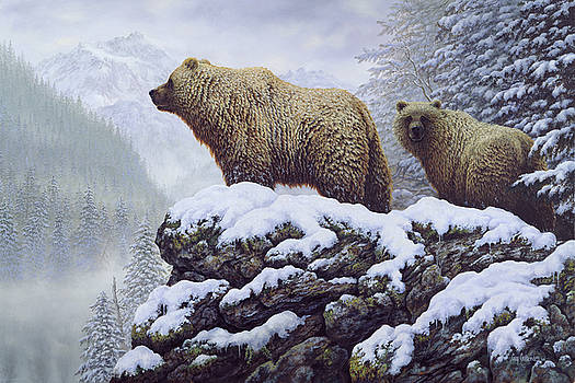 Land of the Grizzly by Guy Crittenden