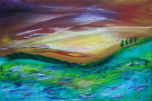 James Bryron Love - Landfall at Sunset