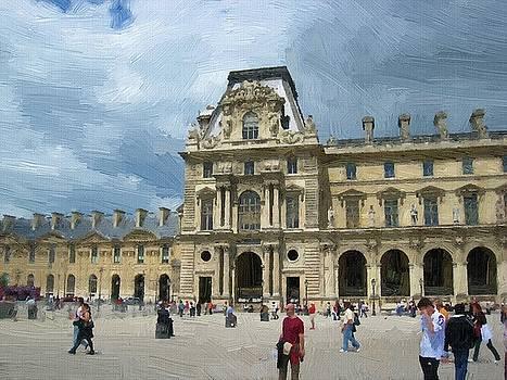 Landmark of Paris by Subesh Gupta