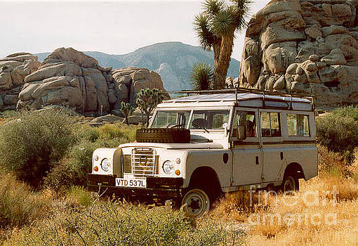 Landrover Safari 109 by Anthony Forster