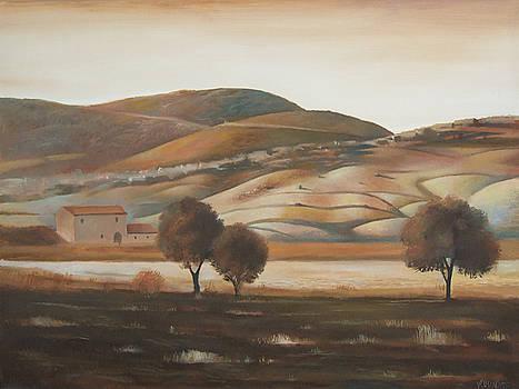 Landscape 7 by Valentin Rusin