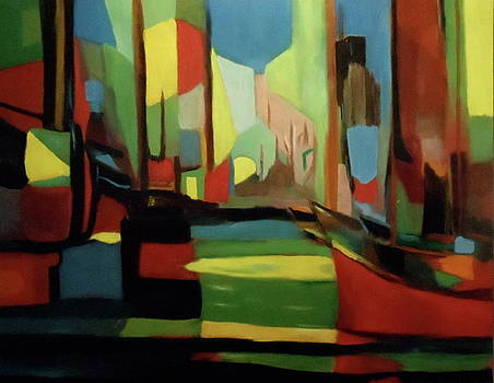 Landscape after Mouly by Bruce Ben Pope