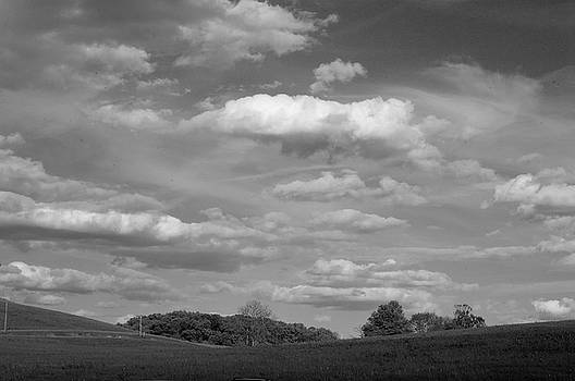 Landscape and Clouds by John Randolph
