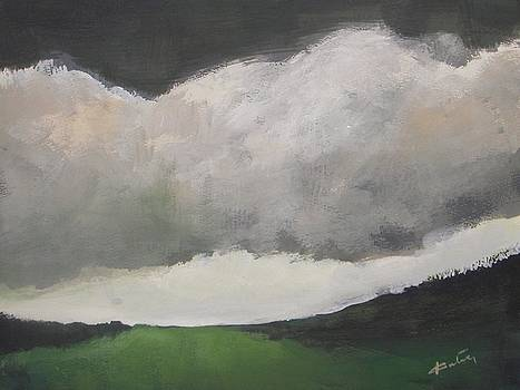 Landscape and Clouds by Vesna Antic