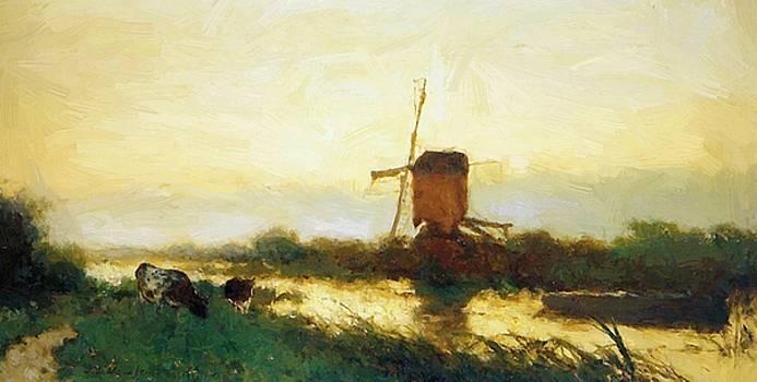 Weissenbruch Johan Hendrik - Landscape At Noorden