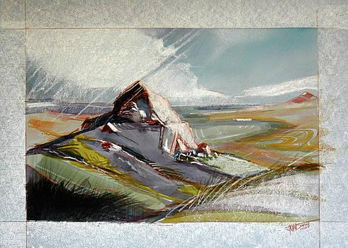 Landscape  Corsika by HGW Schmidt