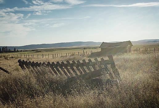 Landscape - Fox Oregon by Roland Peachie