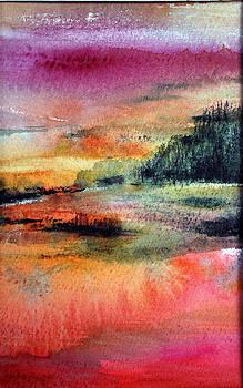 Landscape IX by Neva Rossi