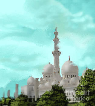 Landscape Of Dubai by Parag Chitnis
