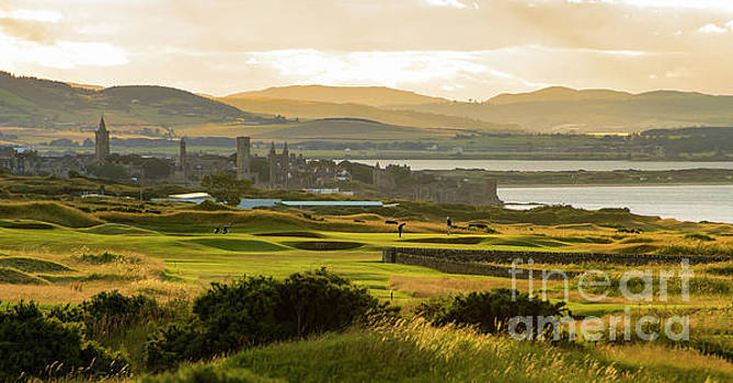 Landscape of St Andrews Home of Golf by MaryJane Armstrong