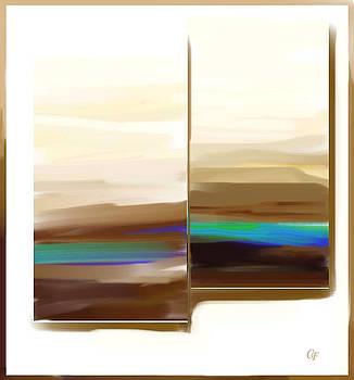 Landscape Painting by Carola Ann-Margret Forsberg