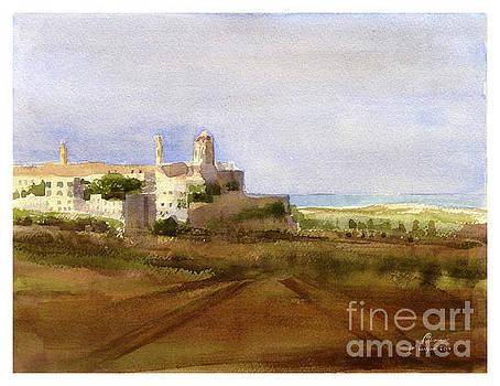 landscape Rabat/Mdina by Godwin Cassar