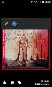Landscape by Shazia Saeed