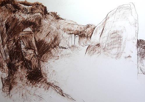 Harry Robertson - Landscape Study in Snowdonia.