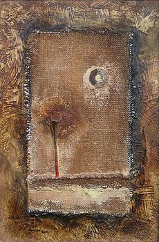 Landscape Through My Window. 2004. by Daniel Pontet