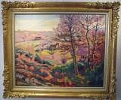 Landscape with Trees by Armand GUILLAUMIN