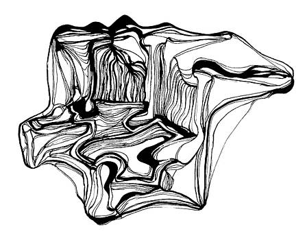 Landscape with Waterfalls by Daniel Schubarth