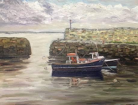 Lane's Cove, Cape Ann, MA by Richard Nowak