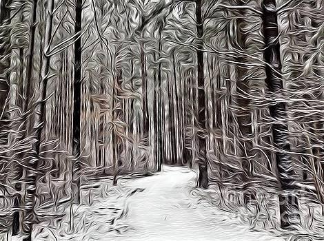 Laneway 2 by Margaret Lindsay Holton
