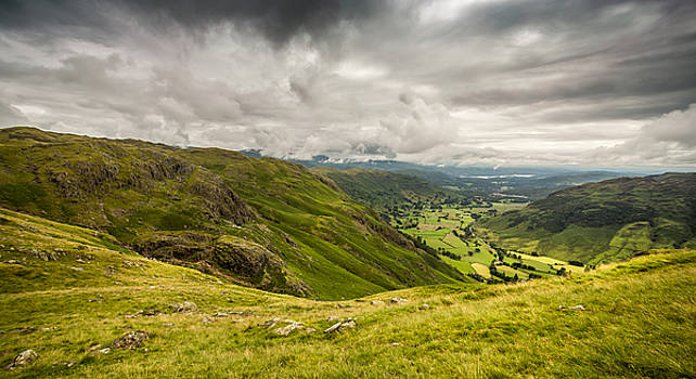 Langdale, Cumbria by Mike Taylor