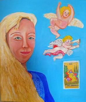 L'ange by Rusty Woodward Gladdish