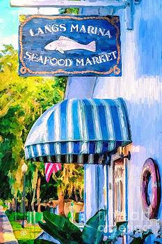 Lang's Marina Seafood Market by Tammy Lee Bradley