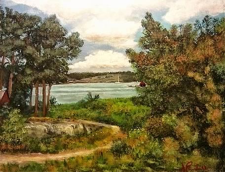 Langvik, Moja by John Prenderville