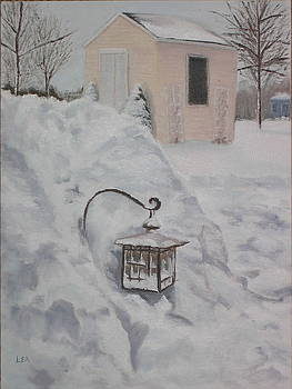 Lea Novak - Lantern in the Snow