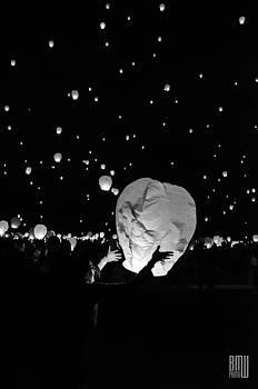 Lantern Liftoff by Benjamin Weilert