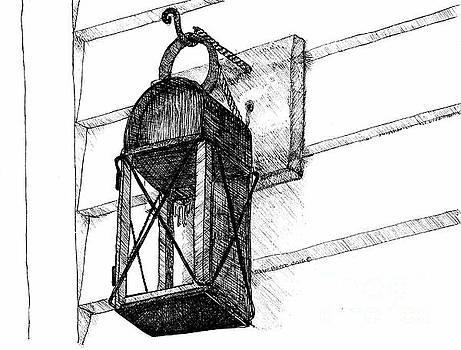 Lantern - Welcome Home Beacon by Dawn Boyer