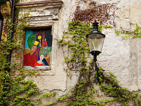 Lanterns and Murals by Rae Tucker