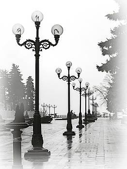 Lanterns of Mariyinskyi Park. Kyiv, 2015. by Andriy Maykovskyi