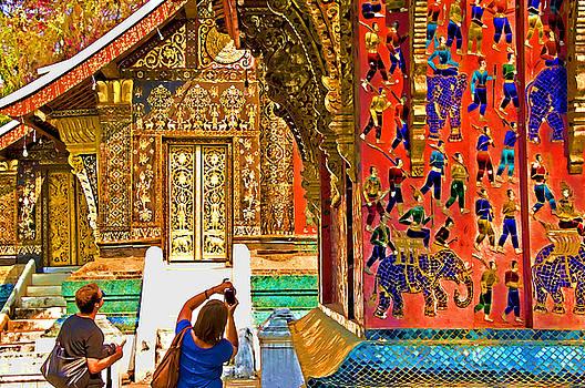 Dennis Cox - Laotian Temple