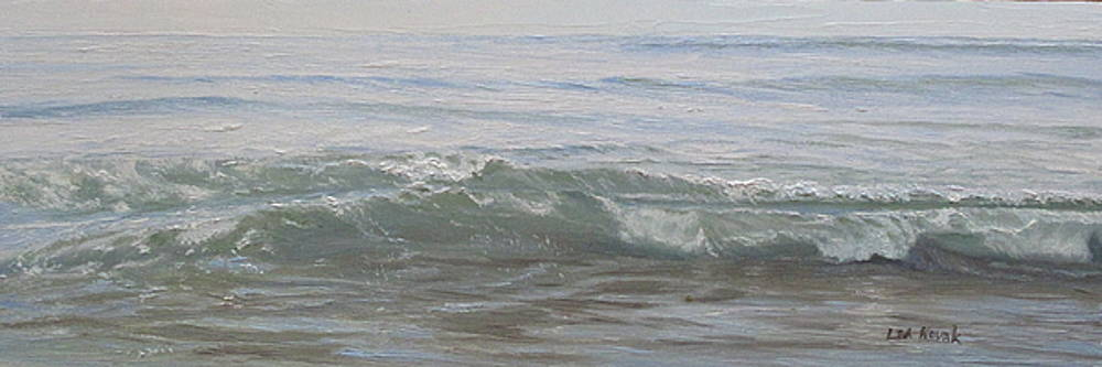 Lapping Waves on a Sunny Day by Lea Novak