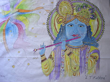 Laptop Krishna by Sunil Mehta
