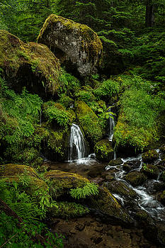 Rick Strobaugh - Large Boulders in the Stream