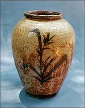 Stephen Hawks - Large Jar with Brushwork