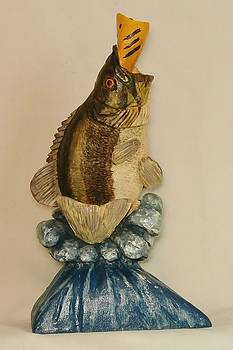 Large Mouth Bass by Russell Ellingsworth
