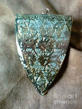 Large pendant 1 back by M Brandl
