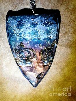 Large pendant 5 back by M Brandl
