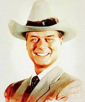John Springfield - Larry Hagman, Actor