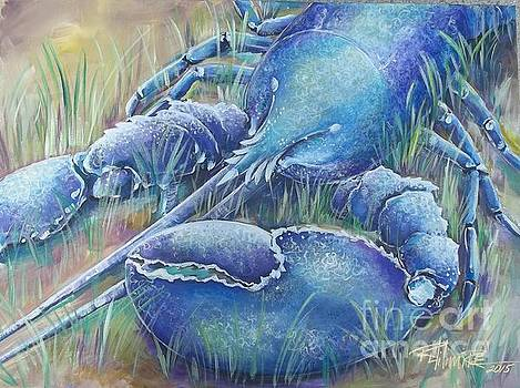 Larry The Blue Lobster by Renee Hilimire