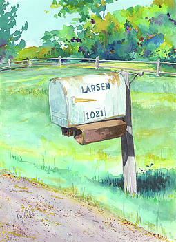 Larsen's Mailbox by Ray Cole