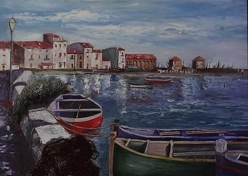Las Barcas by Juan Sandin