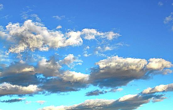 Las  Vegas  January  Clouds by Carl Deaville