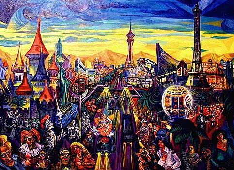 Ari Roussimoff - Las Vegas Razamataz