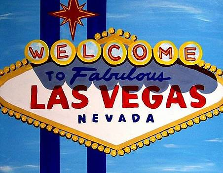 Las Vegas Sign Daytime by Teo Alfonso