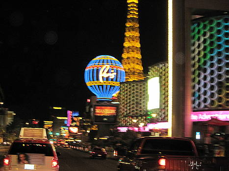 Las Vegas Strip by JoAnn Tavani