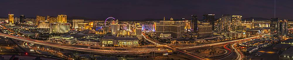 Las Vegas Strip by Roman Kurywczak